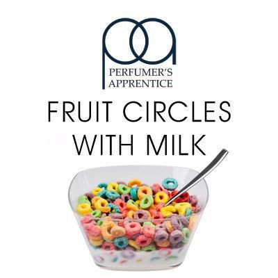 Ароматизатор TPA Fruit Circles With Milk (Фруктовые кольца с молоком)