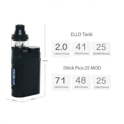Стартовый набор Eleaf iStick Pico 25 with ELLO 85W Kit (Original)