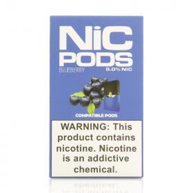 Испаритель одноразовый Nic Pods Cartridge Blueberry (Original)