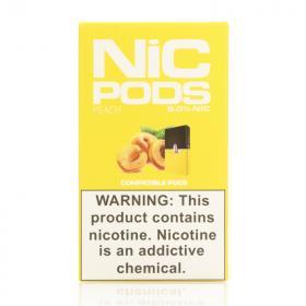 Испаритель одноразовый Nic Pods Cartridge Peach (Original)