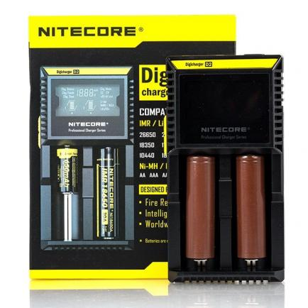 Зарядное устройство Nitecore D2 (Original) 2 слота - 5