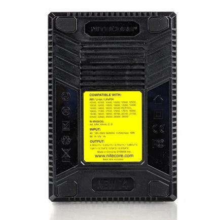 Зарядное устройство Nitecore New i4 intelligent charger (Original) 4 слота - 3