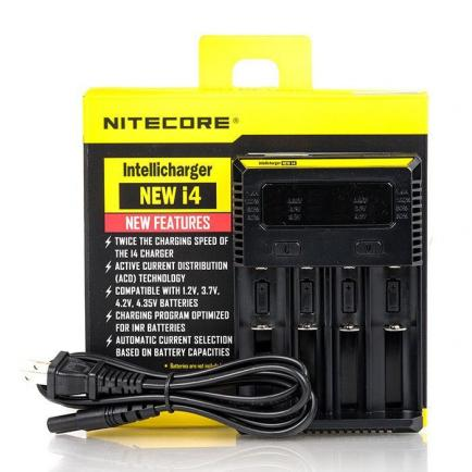 Зарядное устройство Nitecore New i4 intelligent charger (Original) 4 слота - 6