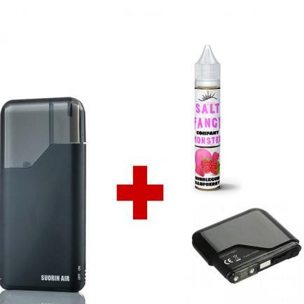 Вместе дешевле Suorin Air + картридж + жидкость Fancy Monster, 30 мл (Original)