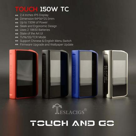 Бокс мод Tesla Touch 150W (Original) - 4