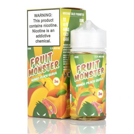 Жидкость Fruit Monster Mango Peach Guava, 100 мл