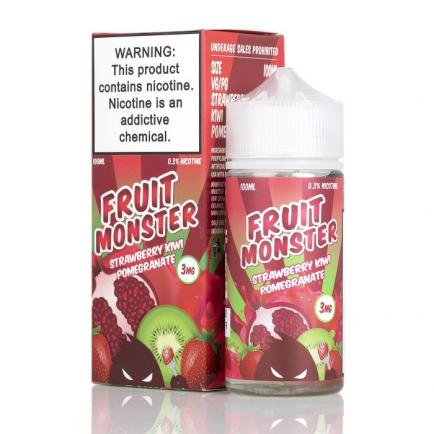 Жидкость Fruit Monster Strawberry Kiwi Pomegranate, 100 мл