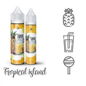 Жидкость Monster Flavor Tropical Island, 60 мл